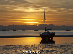 Sunrise, Abersoch, North Wales by Nick Blake 